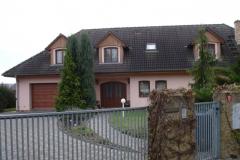 Výstavba rodinných domů v lokalitě Obora